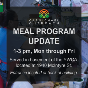 Meal Service Update - Oct 28 2019